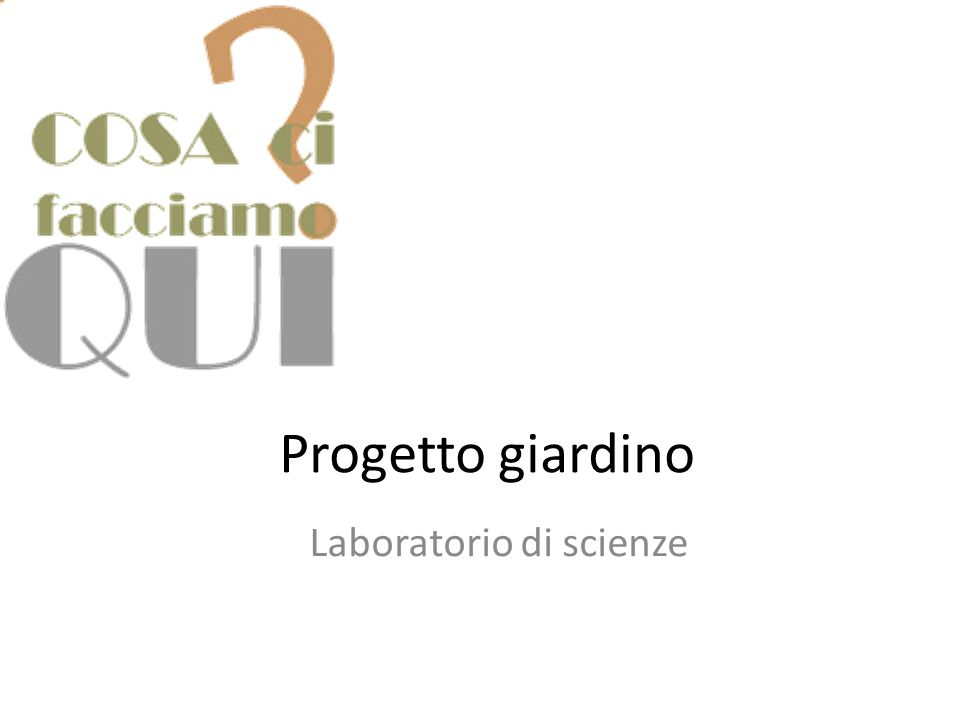 Estremamente Laboratorio di scienze - ppt video online scaricare WQ09