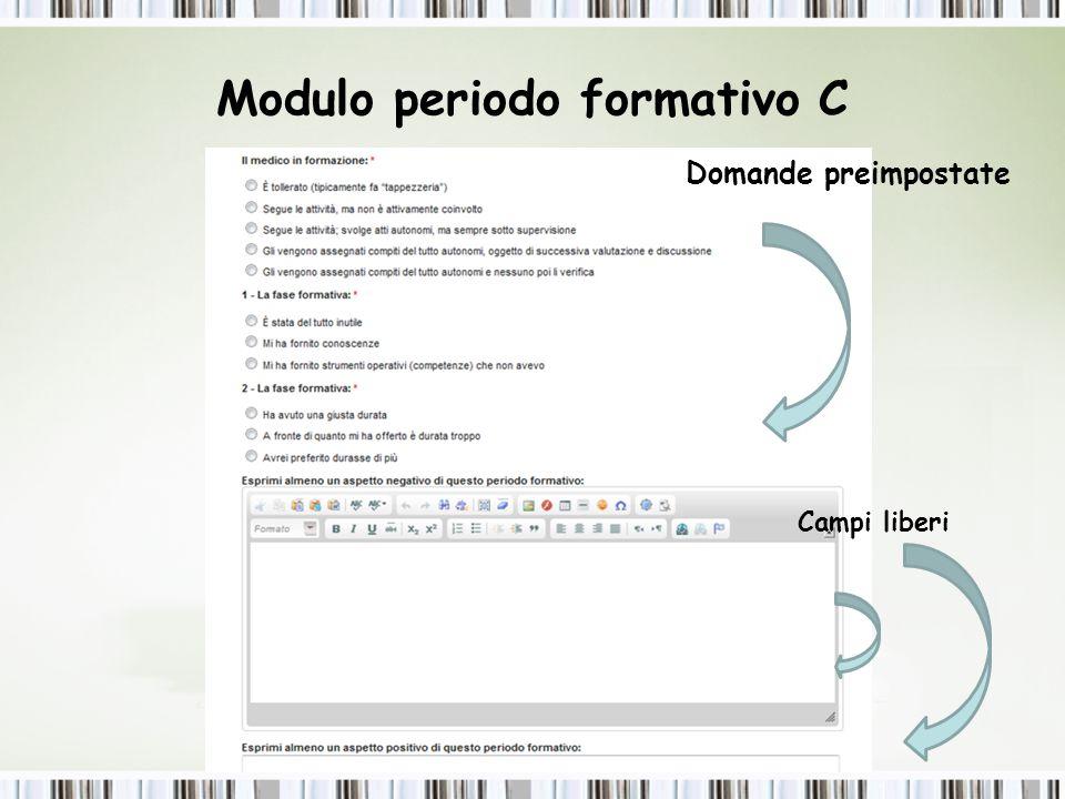 Modulo periodo formativo C
