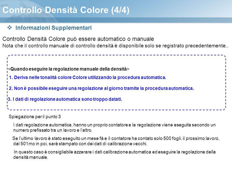 Controllo Densità Colore (4/4)