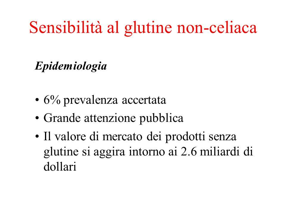 Sensibilità al glutine non-celiaca
