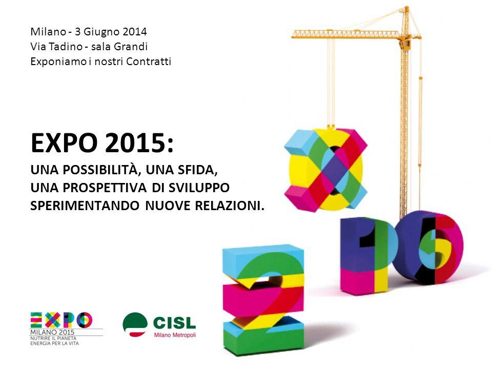 Milano - 3 Giugno 2014 Via Tadino - sala Grandi. Exponiamo i nostri Contratti.