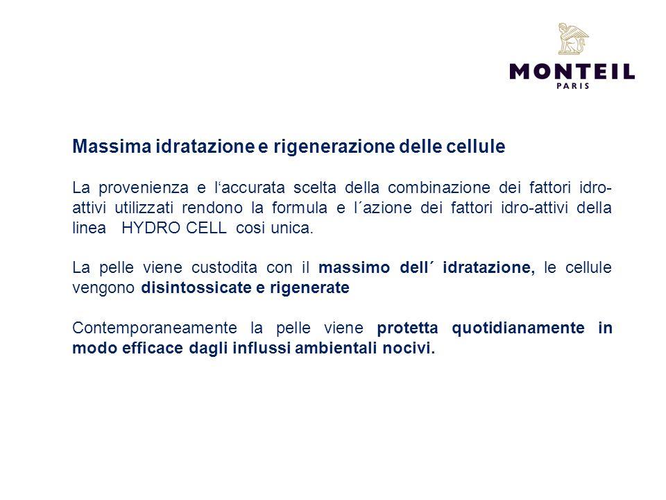 Massima idratazione e rigenerazione delle cellule