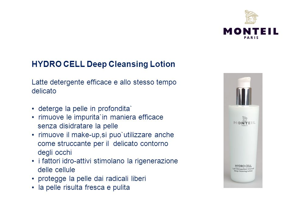 HYDRO CELL Deep Cleansing Lotion