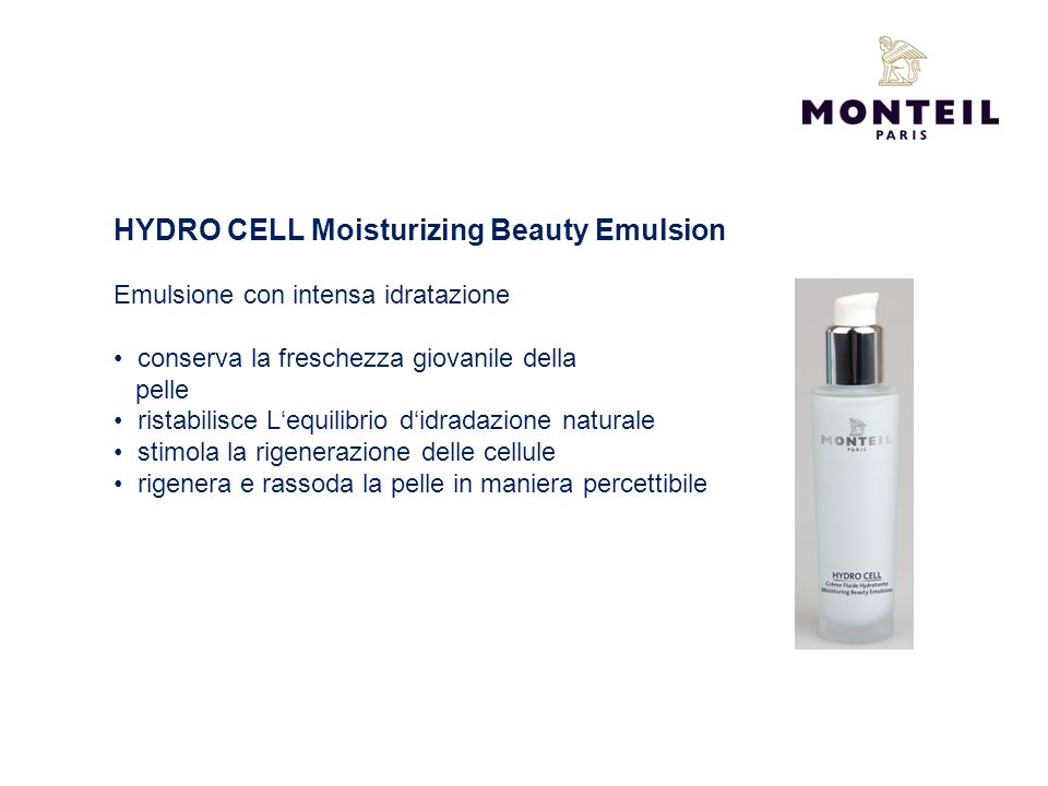 HYDRO CELL Moisturizing Beauty Emulsion