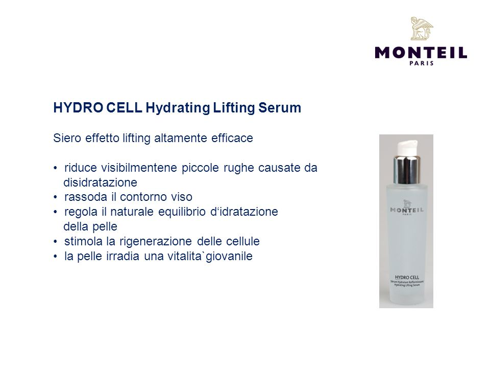 HYDRO CELL Hydrating Lifting Serum