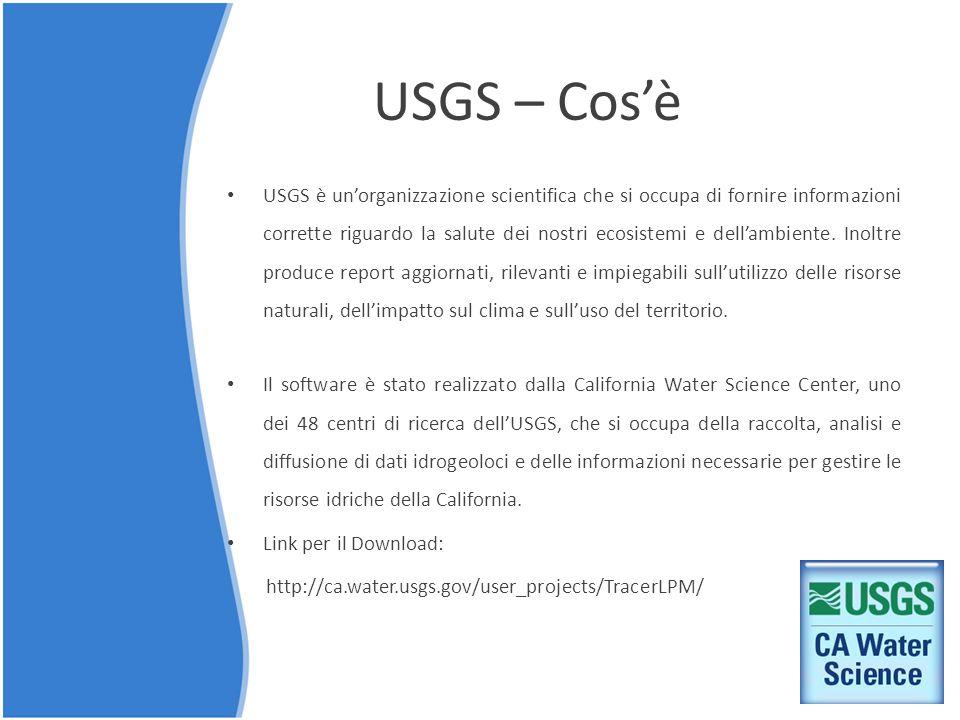 USGS – Cos'è