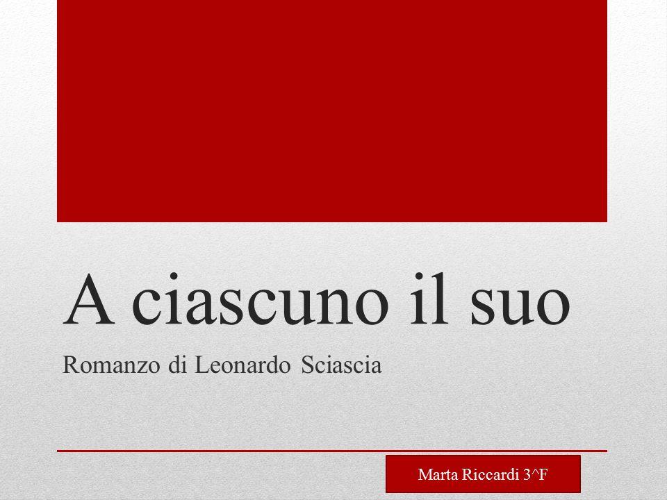 Romanzo di Leonardo Sciascia