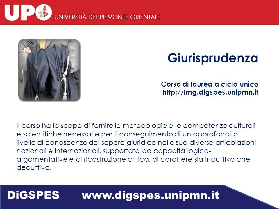 DiGSPES www.digspes.unipmn.it
