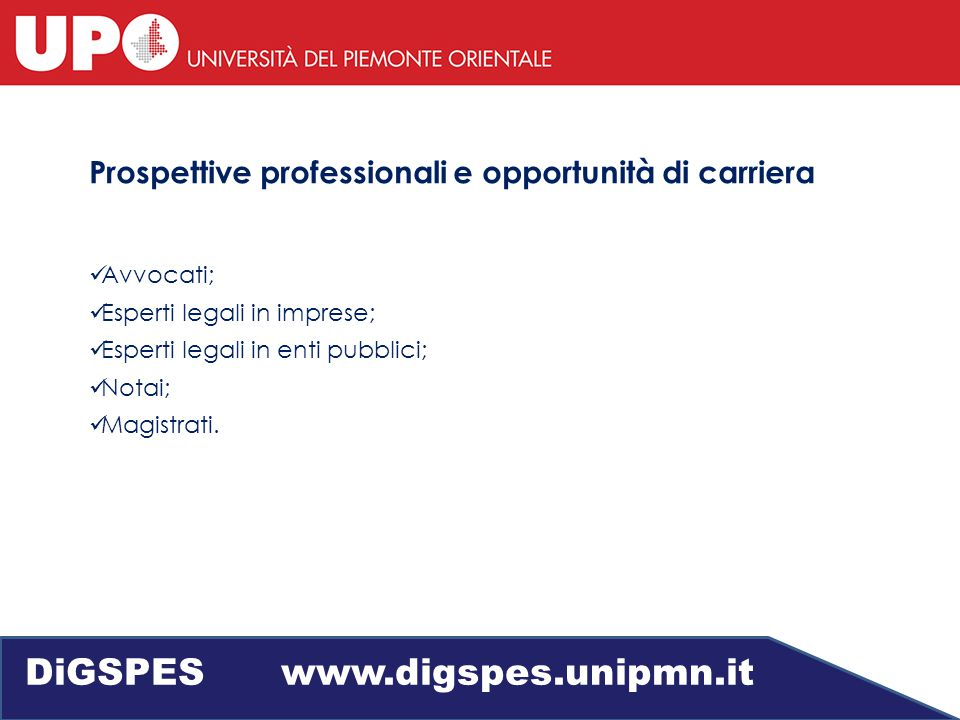 Giurisprudenza DiGSPES www.digspes.unipmn.it