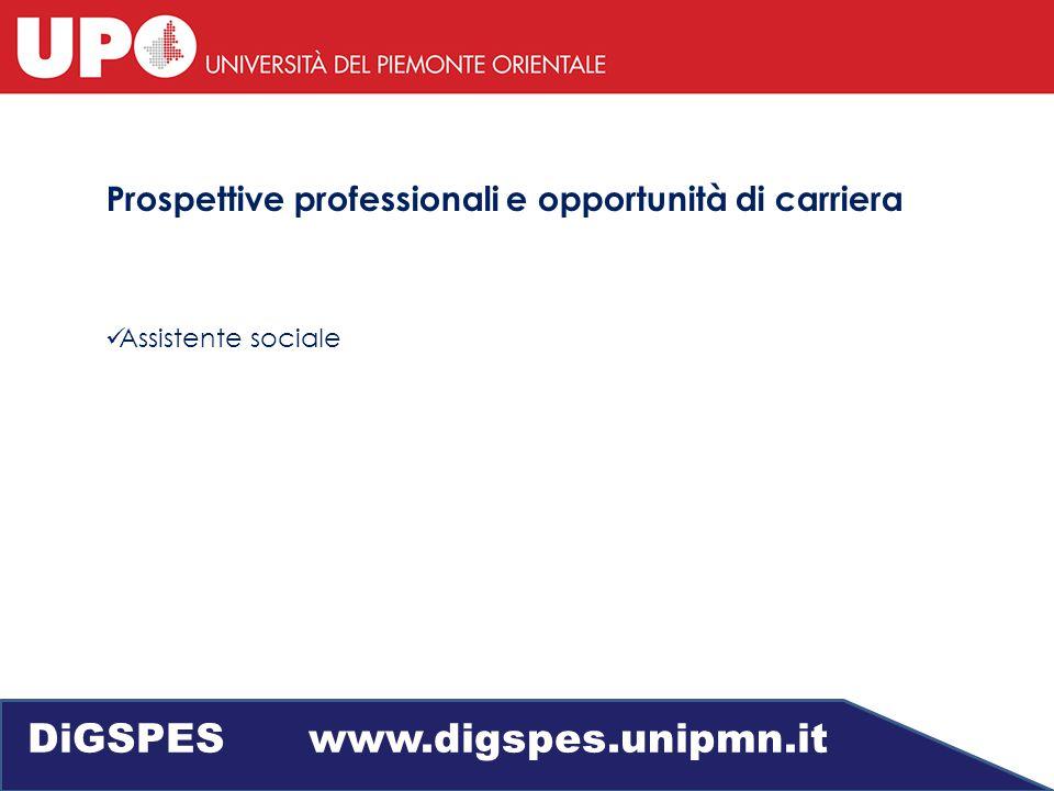 Servizio Sociale DiGSPES www.digspes.unipmn.it