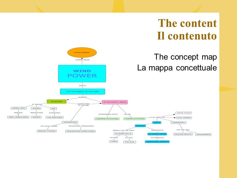 The content Il contenuto