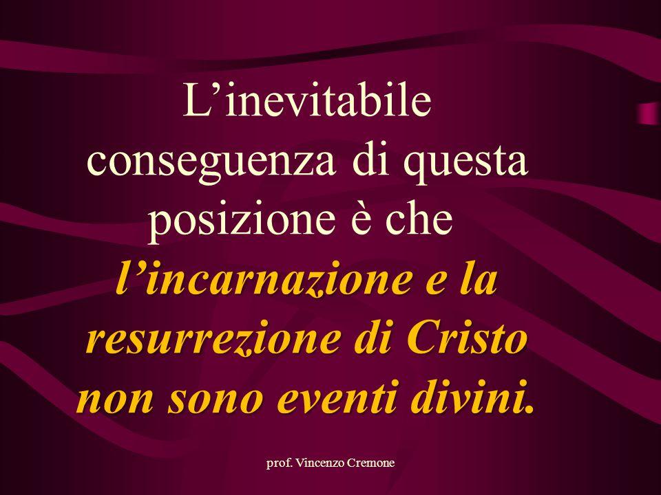 l'incarnazione e la resurrezione di Cristo