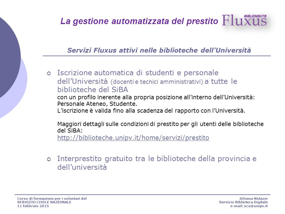 Università degli studi di Pavia