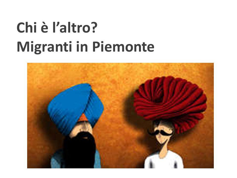 Chi è l'altro Migranti in Piemonte
