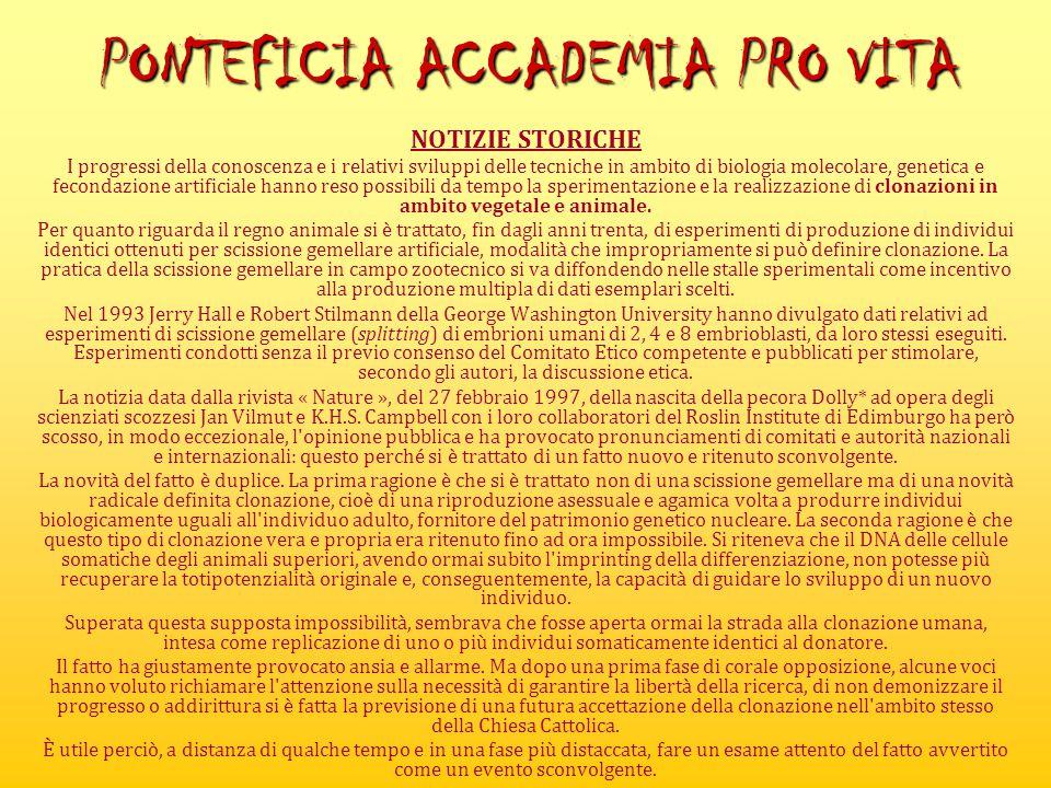 PONTEFICIA ACCADEMIA PRO VITA
