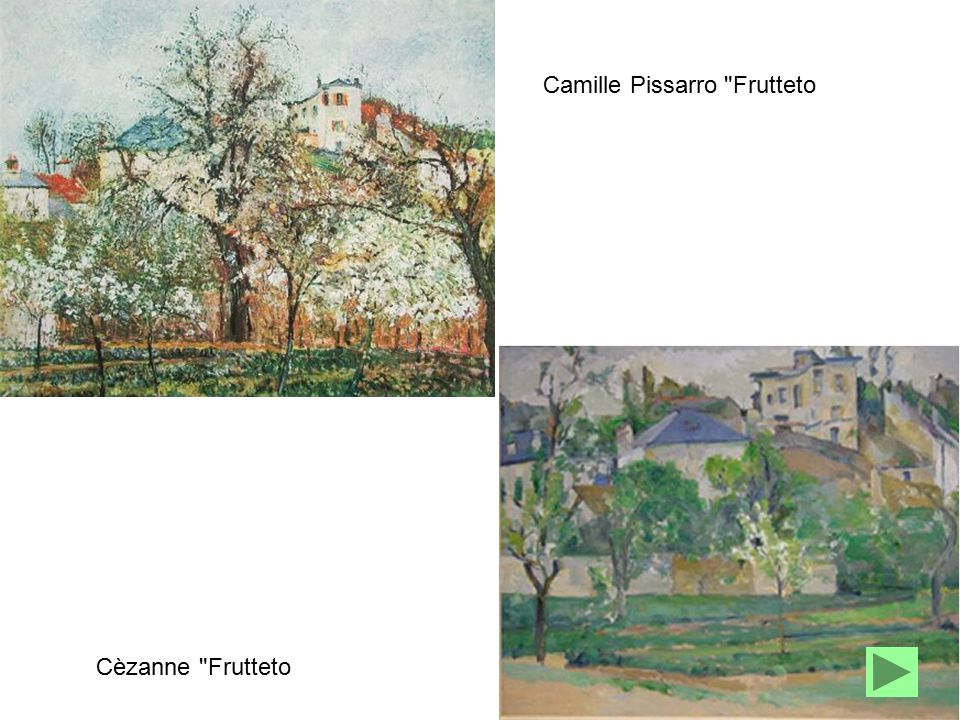 Camille Pissarro Frutteto