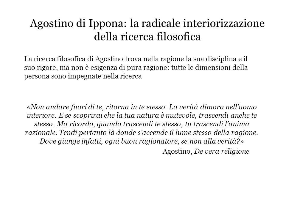 Agostino, De vera religione