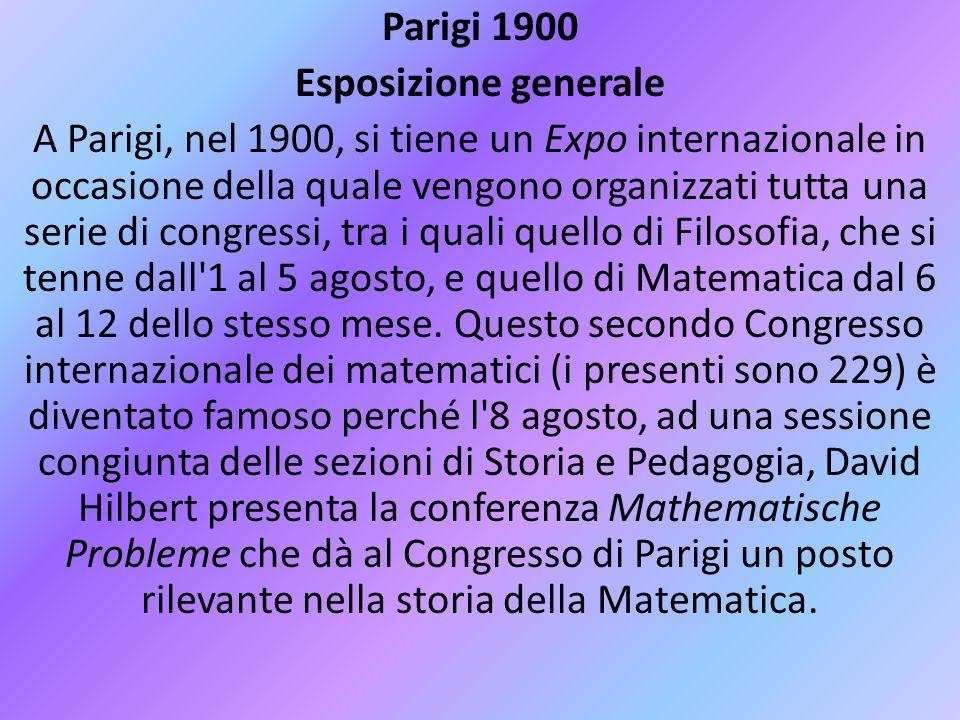 Parigi 1900 Esposizione generale.