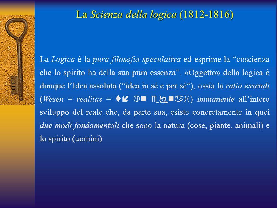 La Scienza della logica (1812-1816)