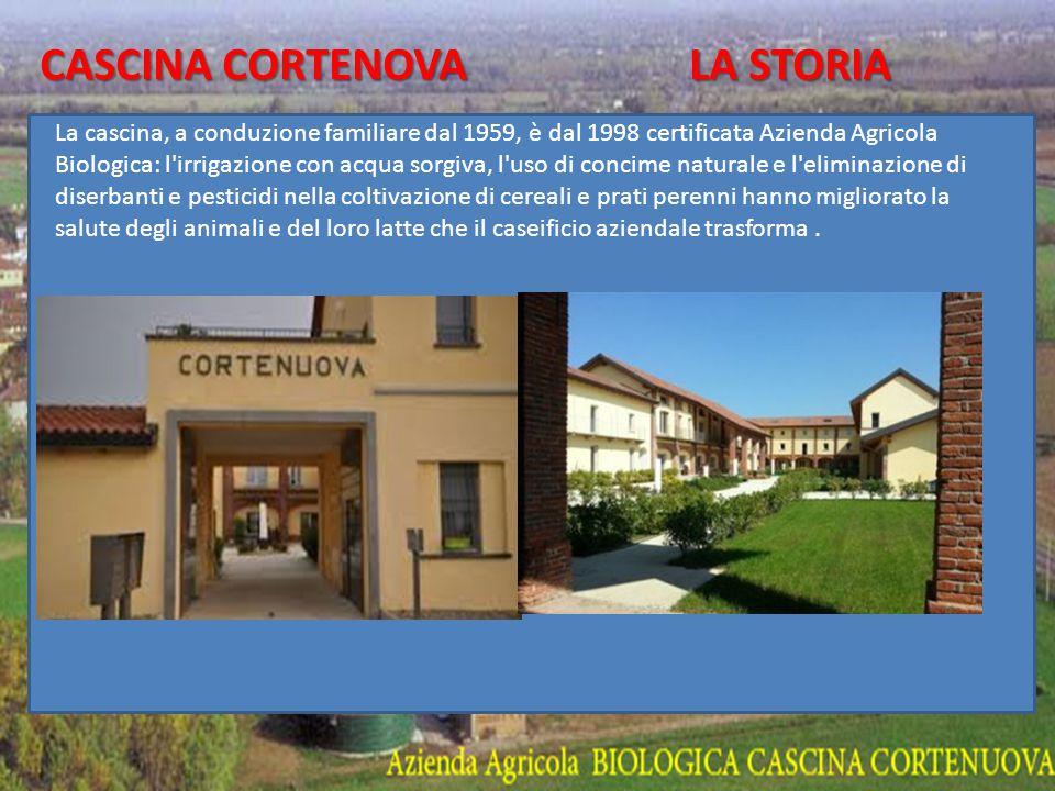 CASCINA CORTENOVA LA STORIA