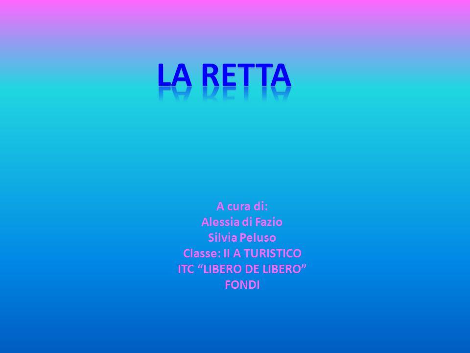 La Retta A cura di: Alessia di Fazio Silvia Peluso
