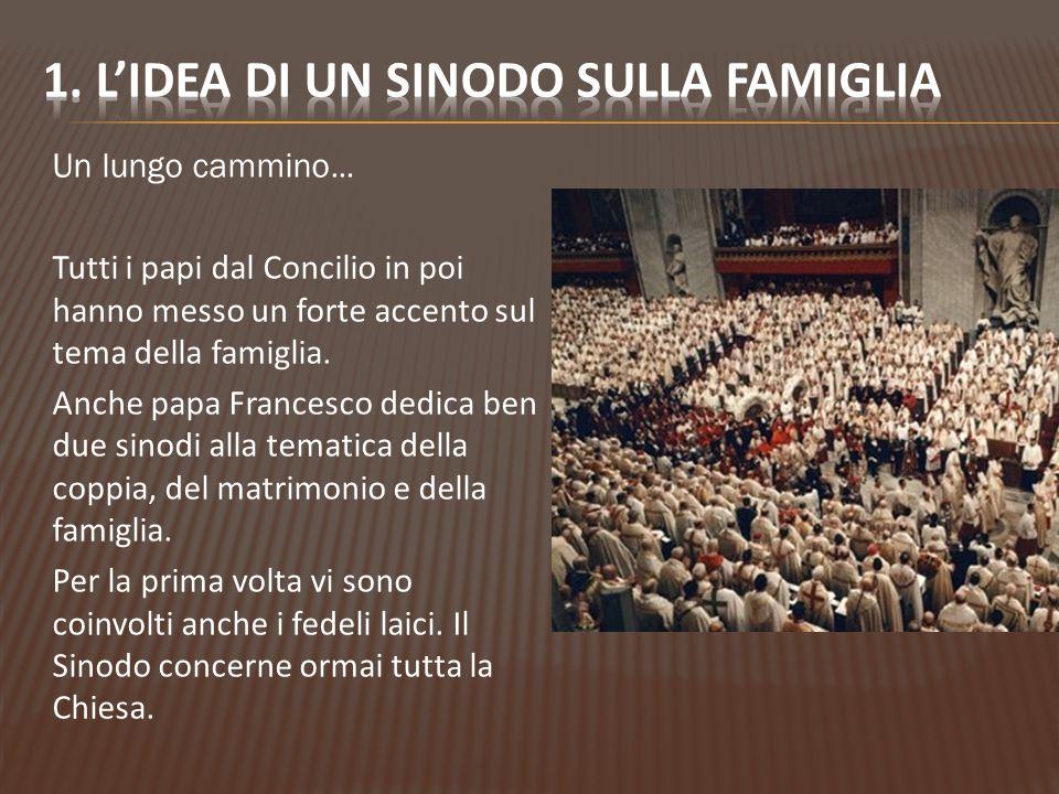 1. L'idea di un sinodo sulla famiglia