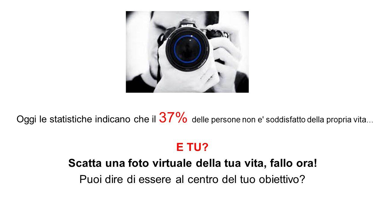 Scatta una foto virtuale della tua vita, fallo ora!