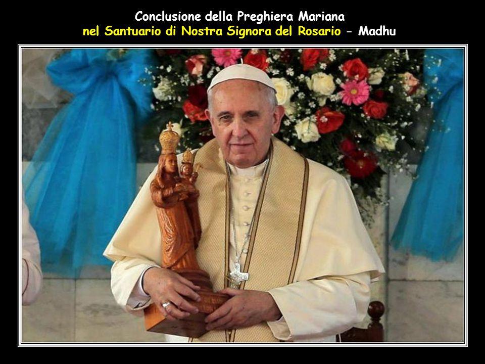 Conclusione della Preghiera Mariana