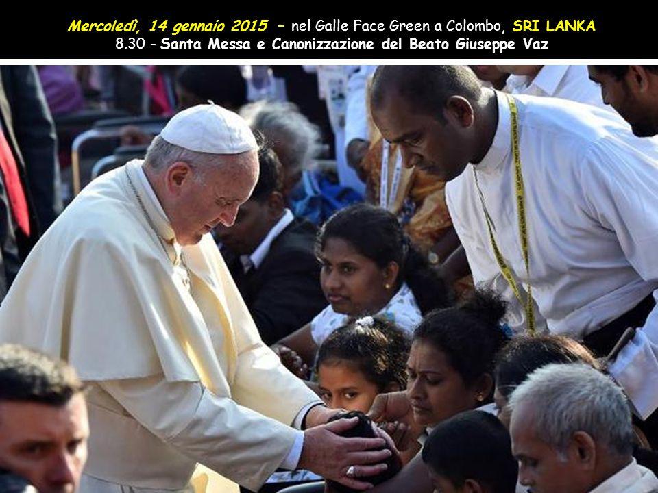Mercoledì, 14 gennaio 2015 – nel Galle Face Green a Colombo, SRI LANKA