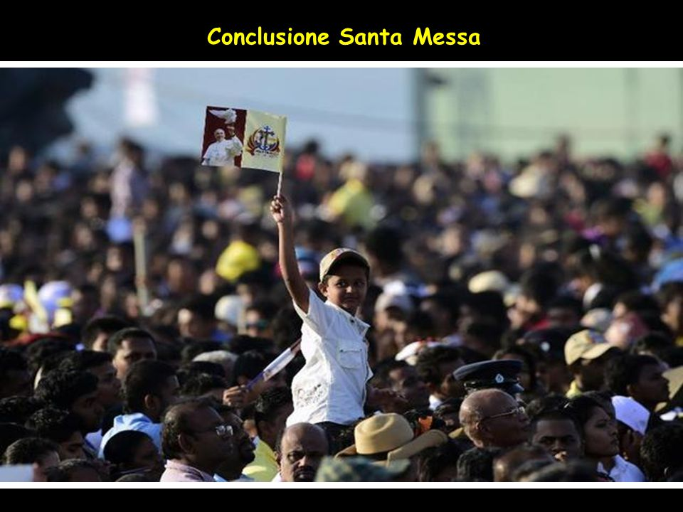 Conclusione Santa Messa