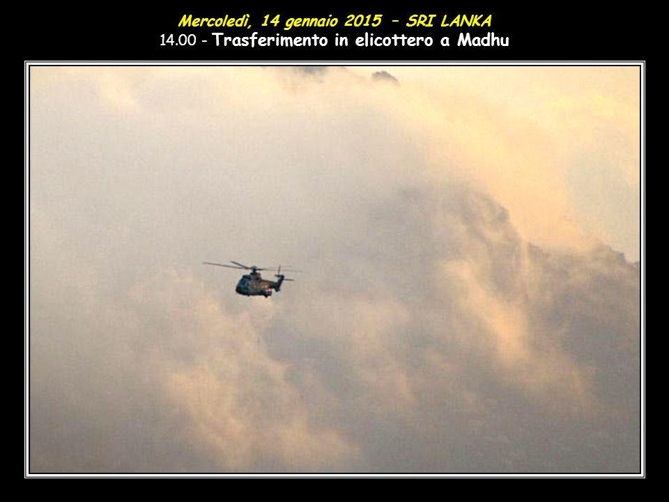 Mercoledì, 14 gennaio 2015 – SRI LANKA