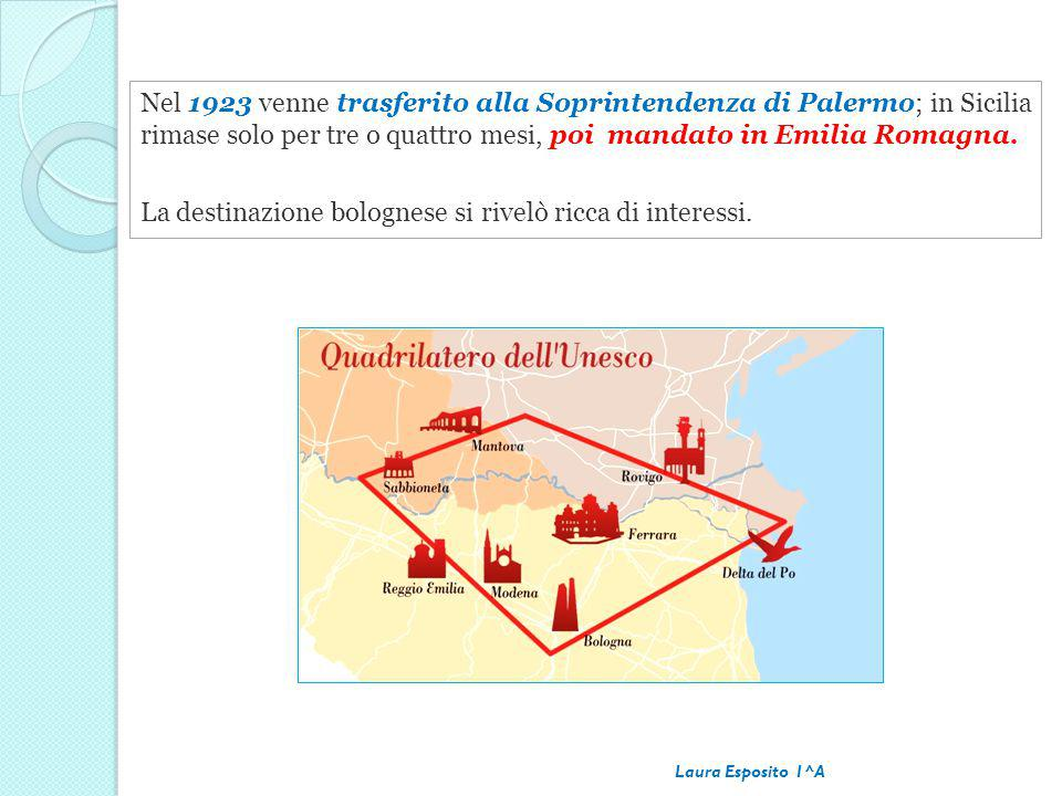 La destinazione bolognese si rivelò ricca di interessi.