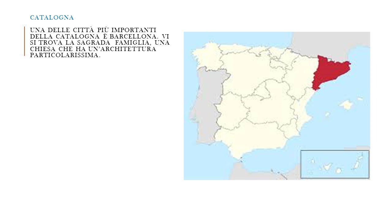 Catalogna una delle città più importanti della catalogna è Barcellona
