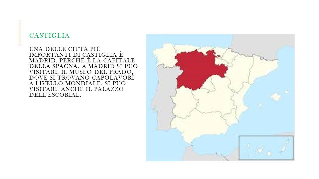 Castiglia una delle città più importanti di Castiglia è Madrid, perché è la capitale della spagna.