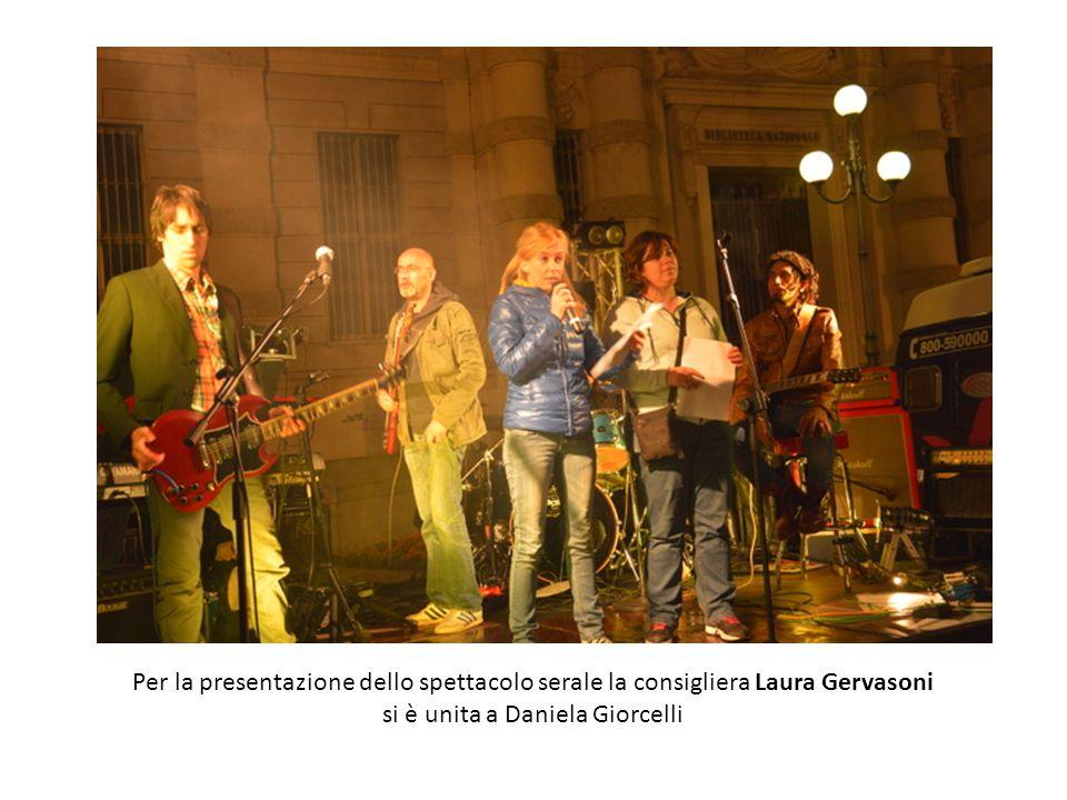 si è unita a Daniela Giorcelli