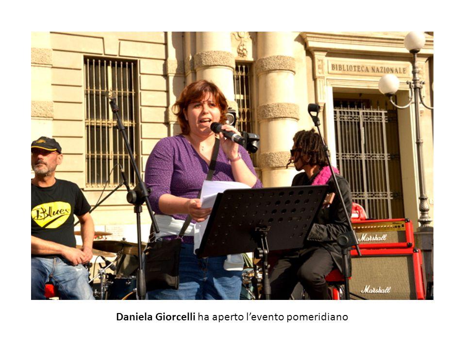 Daniela Giorcelli ha aperto l'evento pomeridiano
