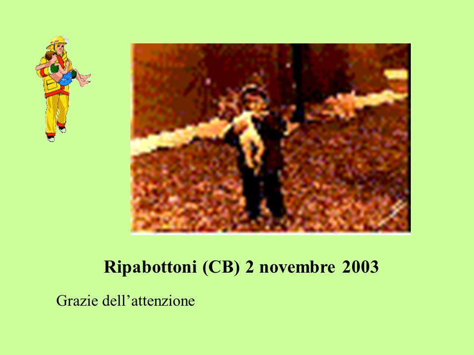 Ripabottoni (CB) 2 novembre 2003