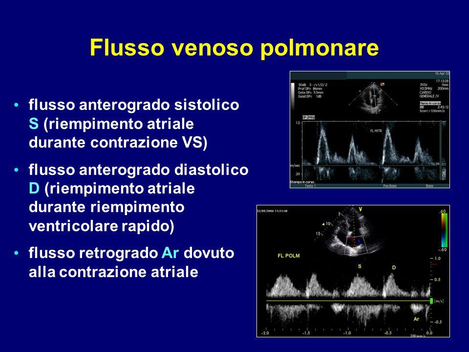 Flusso venoso polmonare
