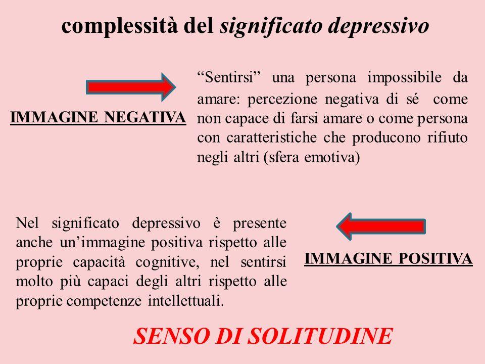 complessità del significato depressivo