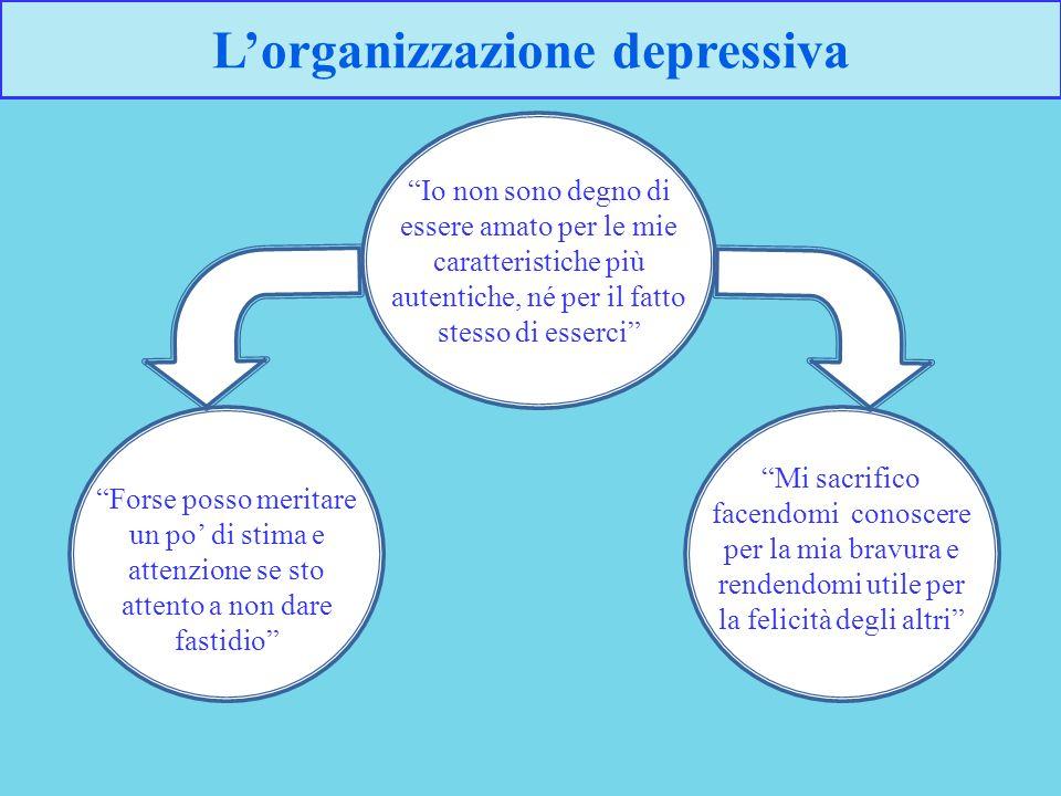 L'organizzazione depressiva