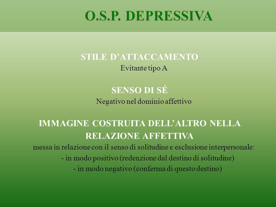 IMMAGINE COSTRUITA DELL'ALTRO NELLA