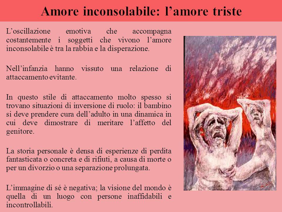Amore inconsolabile: l'amore triste