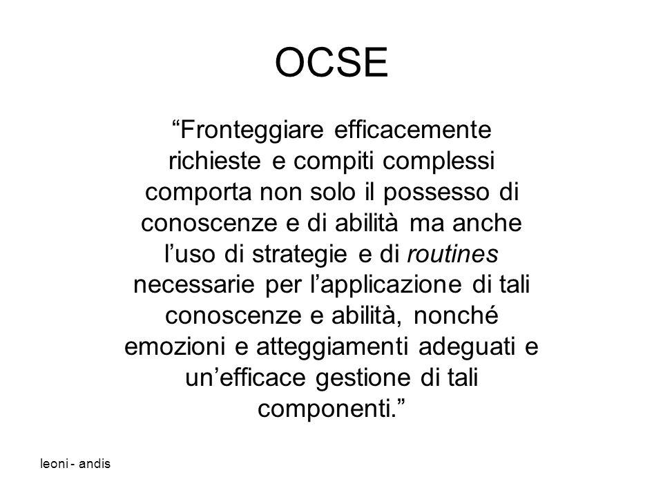 OCSE Fronteggiare efficacemente richieste e compiti complessi