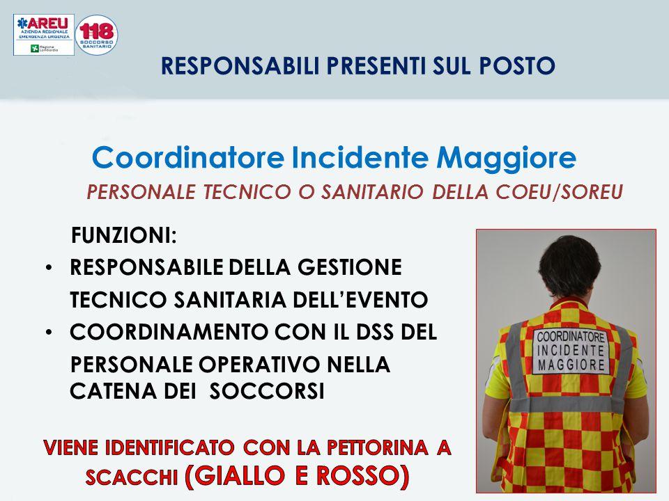Coordinatore Incidente Maggiore