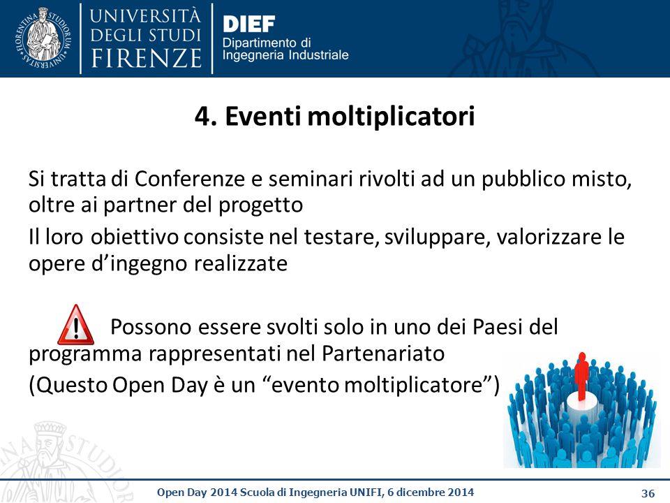 4. Eventi moltiplicatori