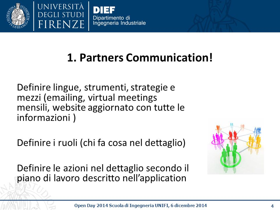 1. Partners Communication!