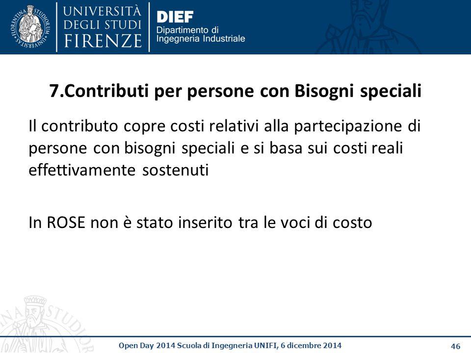 7.Contributi per persone con Bisogni speciali