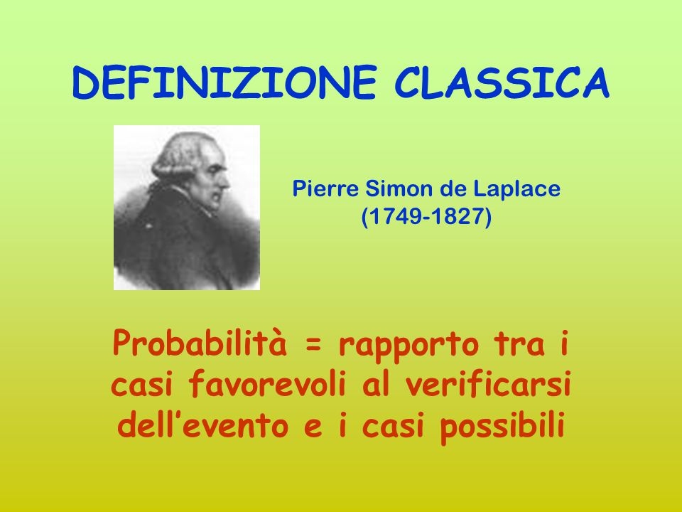 Pierre Simon de Laplace (1749-1827)