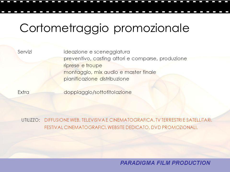 Cortometraggio promozionale