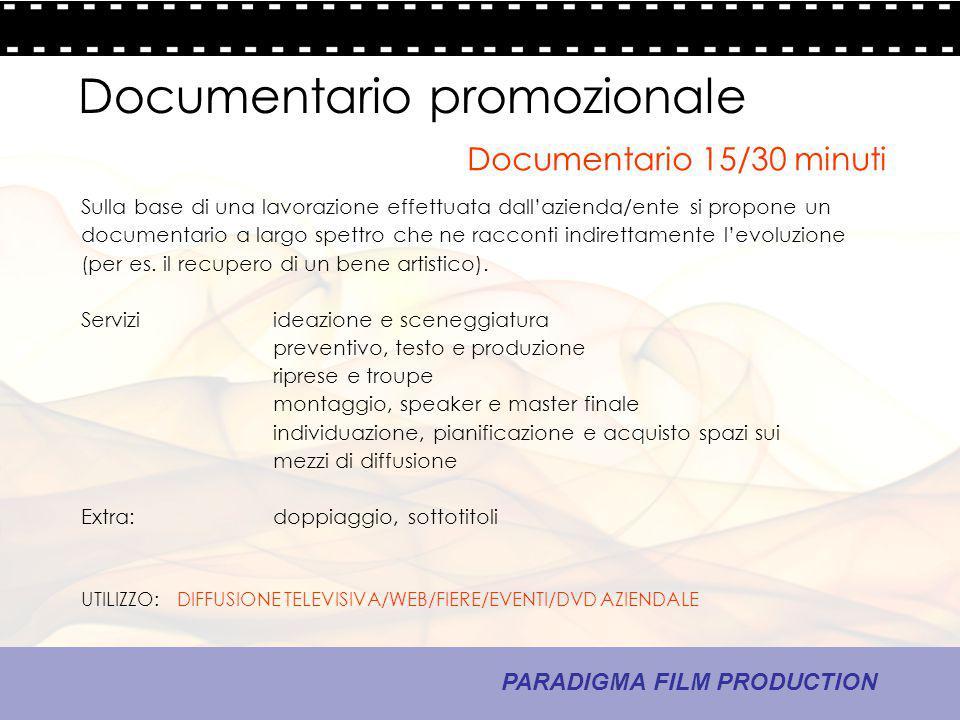 Documentario promozionale